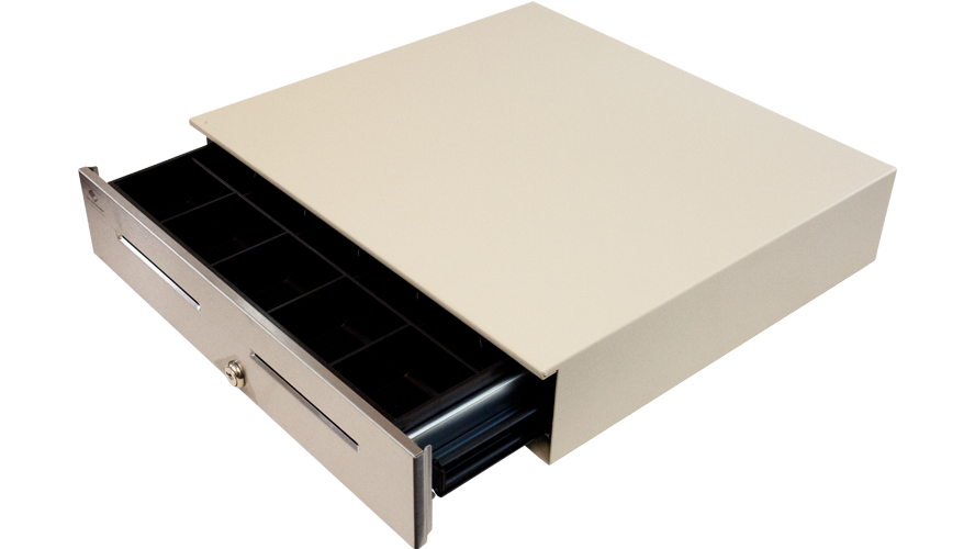 apg cash drawer jd320-cw1816-c cloud white stainless front